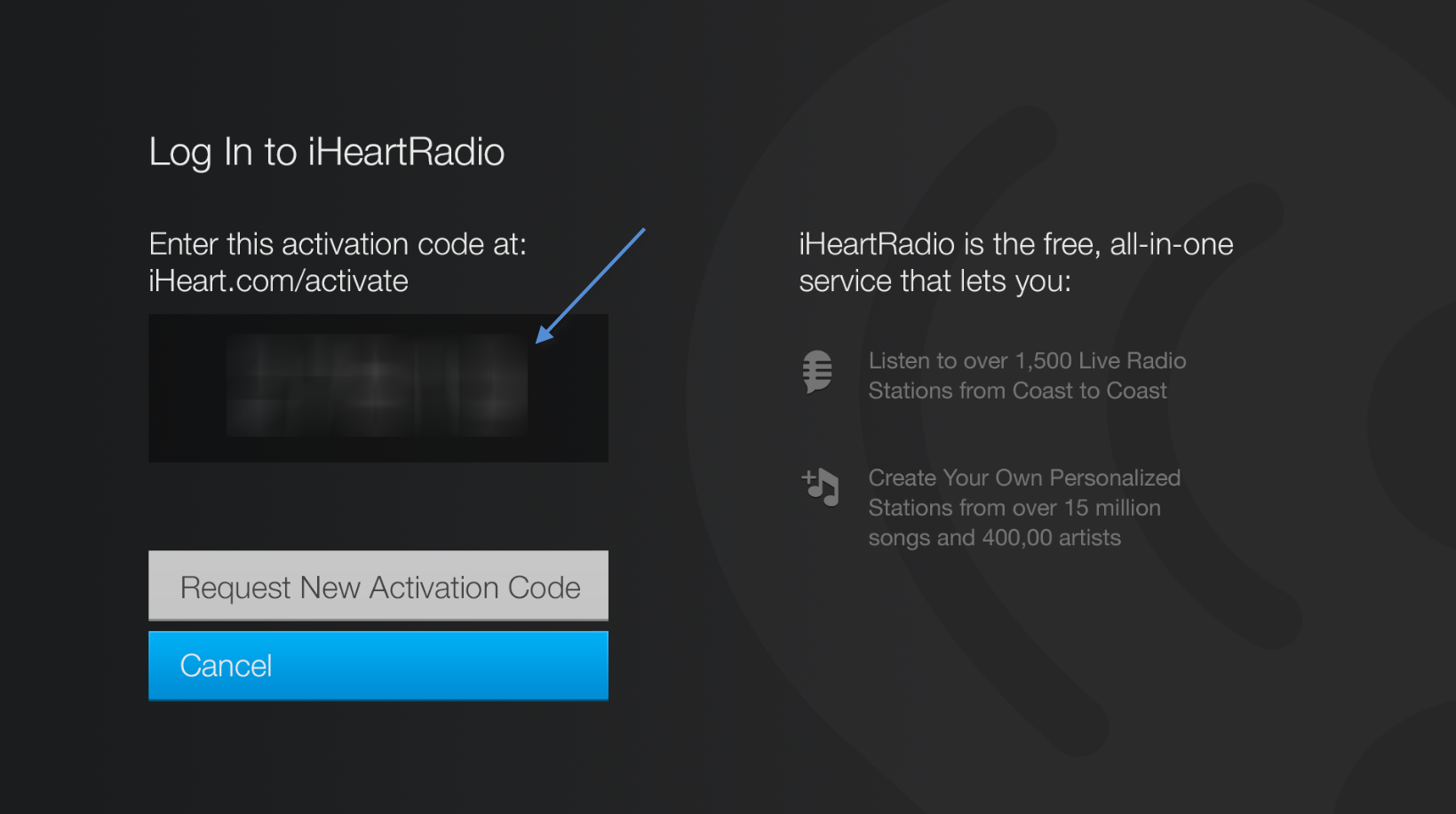 Adding iHeartRadio to Amazon Fire TV – iHeartRadio Help