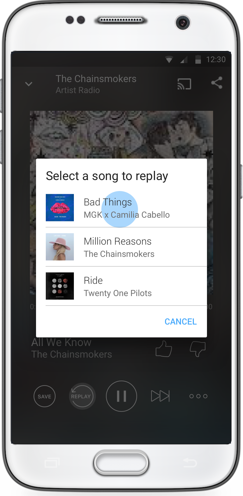 How do I replay a song? – iHeartRadio Help